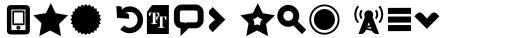 Aquawax Pro Pictograms Heavy sample