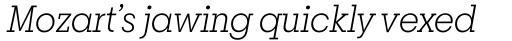 Breton Light Italic sample