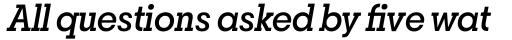 Breton Medium Italic sample