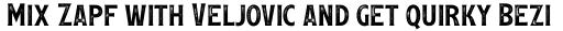 Leftfield Serif Rough Regular sample