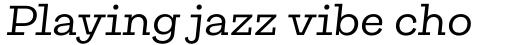 Galeria Regular Italic sample