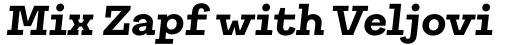 Galeria Bold Italic sample