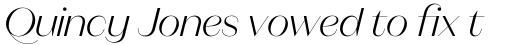 Magnat Poster Light Italic sample