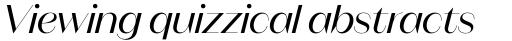 Magnat Poster Regular Italic sample