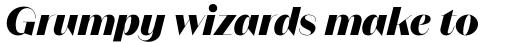 Magnat Poster ExtraBold Italic sample