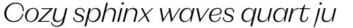 Magnat Head Light Italic sample