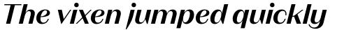 Magnat Head SemiBold Italic sample