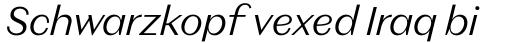 Magnat Text Light Italic sample