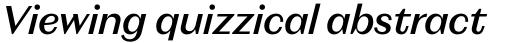 Magnat Text Medium Italic sample