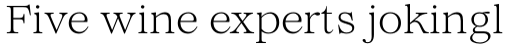 Lovelace Text Light sample