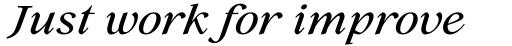 Lovelace Text Medium Italic sample