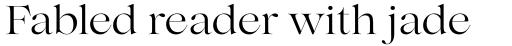 Lovelace Regular sample