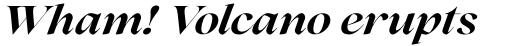 Lovelace Bold Italic sample