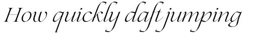 Lovelace Script Light sample