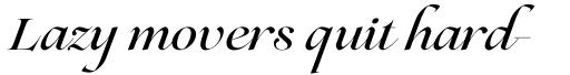 Lovelace Script Medium sample