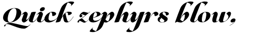 Lovelace Script Extrabold sample
