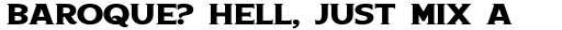 Boardwalk Avenue Serif Bold sample