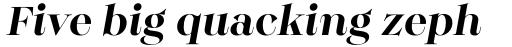 Monckeberg Medium Italic sample