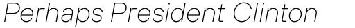 TT Hoves Thin Italic sample