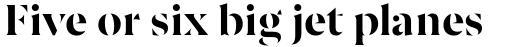 Ariata Stencil Bold sample