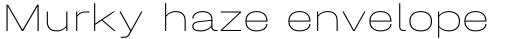 Halvar Breitschrift ExtraThin sample
