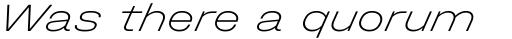 Halvar Breitschrift Thin SuperSlanted sample