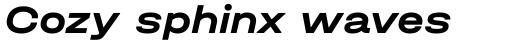 Halvar Breitschrift Bold Slanted sample