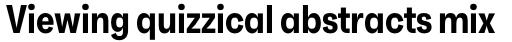 Faktum XCond Semi Bold sample