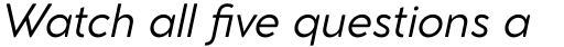 Cocomat Pro Italic sample