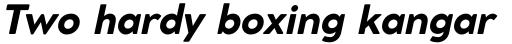Cocomat Pro Extra Bold Italic sample