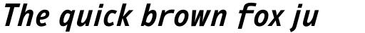 Ambiguity Radical SemiBold Italic sample