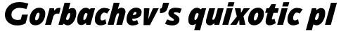 Ambiguity Tradition Black Italic sample