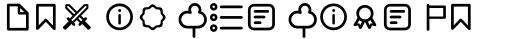 Duepuntozero Pro Icon Regular sample