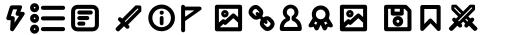 Duepuntozero Pro Icon Bold sample