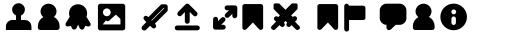 Duepuntozero Pro Icon Extrabold sample