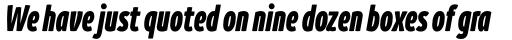 Branding SF Cmp Black Italic sample