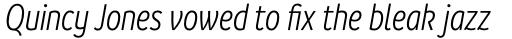 Branding SF Cnd Semi Light Italic sample