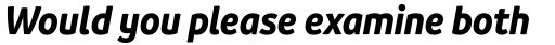 Branding SF Narrow Bold Italic sample