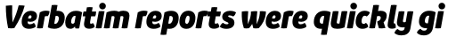 Branding SF Narrow Black Italic sample