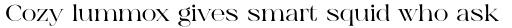 Aequitas Bold sample