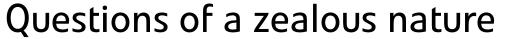 Veto Sans Regular sample