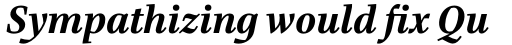 Bridge Text Bold Italic sample
