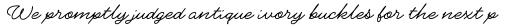 Gainsborough Pen Regular sample