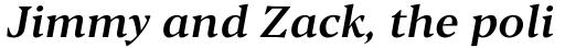 Blacker Pro Text Medium Italic sample