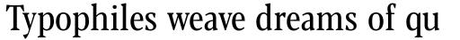 Blacker Pro Text Condensed Regular sample