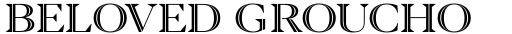 Blacker Pro Titling Inline Medium sample