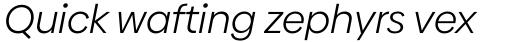 Biennale Book Italic sample