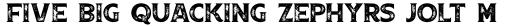 Boardwalk Avenue Rough Serif Bold sample
