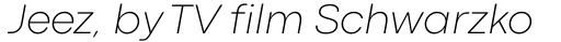 Codec Pro Extra Light Italic sample
