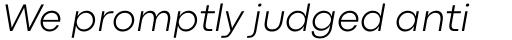 Codec Pro Light Italic sample
